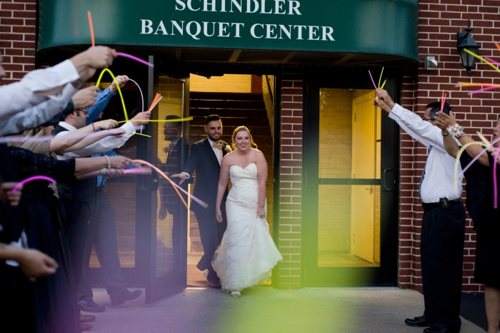 1047Xenia-Ohio-Wedding-Schindler-Banquet-Center-glow-stick-getaway-by-Ashley-Lynn-Photography